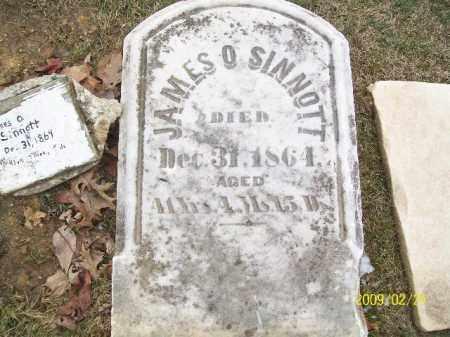 SINNOTT, JAMES O - Lorain County, Ohio   JAMES O SINNOTT - Ohio Gravestone Photos
