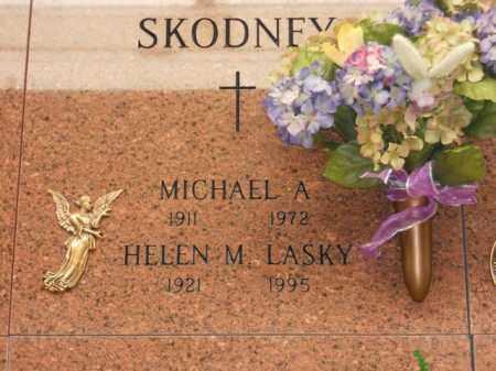 JASINSKI SKODNEY, LASKY, HELEN M. - Lorain County, Ohio | HELEN M. JASINSKI SKODNEY, LASKY - Ohio Gravestone Photos