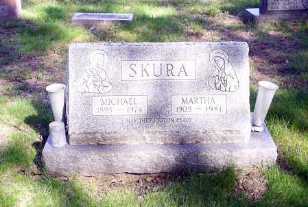 SKURA, MARTHA - Lorain County, Ohio | MARTHA SKURA - Ohio Gravestone Photos