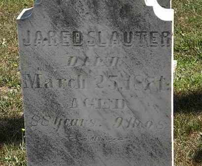 SLAUTER, JARED - Lorain County, Ohio | JARED SLAUTER - Ohio Gravestone Photos