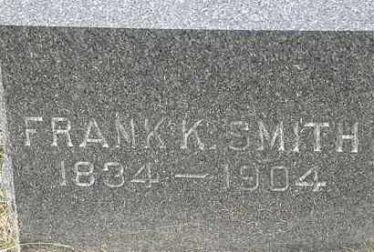 SMITH, FRANK K. - Lorain County, Ohio | FRANK K. SMITH - Ohio Gravestone Photos