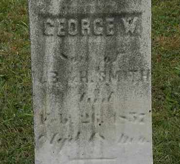 SMITH, GEORGE W. - Lorain County, Ohio | GEORGE W. SMITH - Ohio Gravestone Photos