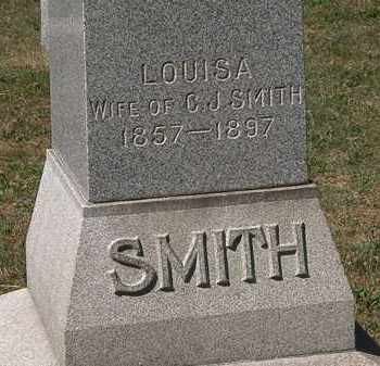 SMITH, LOUISA - Lorain County, Ohio | LOUISA SMITH - Ohio Gravestone Photos