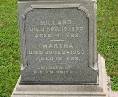 SMITH, MARTHA - Lorain County, Ohio | MARTHA SMITH - Ohio Gravestone Photos