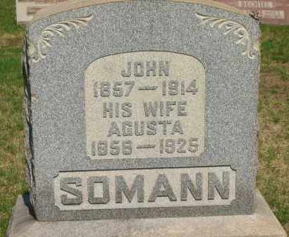SOMANN, JOHN - Lorain County, Ohio | JOHN SOMANN - Ohio Gravestone Photos