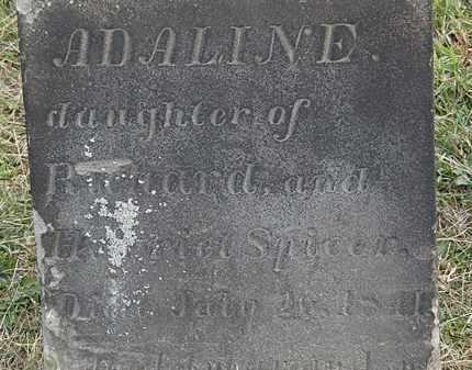 SPICER, ADALINE - Lorain County, Ohio | ADALINE SPICER - Ohio Gravestone Photos