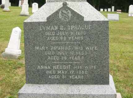 SPRAGUE, LYMAN B. - Lorain County, Ohio | LYMAN B. SPRAGUE - Ohio Gravestone Photos