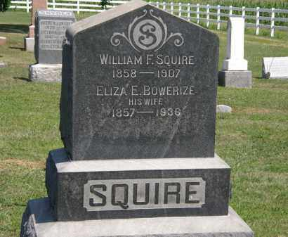 SQUIRE, ELIZA E. - Lorain County, Ohio | ELIZA E. SQUIRE - Ohio Gravestone Photos