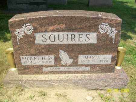 SQUIRES, SR., ROBERT H. - Lorain County, Ohio | ROBERT H. SQUIRES, SR. - Ohio Gravestone Photos