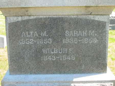STARR, SARAH M. - Lorain County, Ohio | SARAH M. STARR - Ohio Gravestone Photos