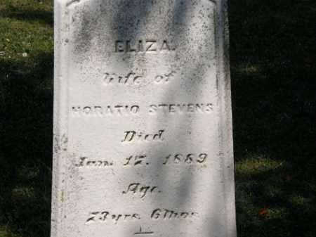 STEVENS, ELIZA - Lorain County, Ohio | ELIZA STEVENS - Ohio Gravestone Photos