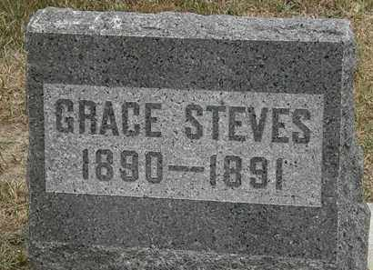 STEVES, GRACE - Lorain County, Ohio | GRACE STEVES - Ohio Gravestone Photos
