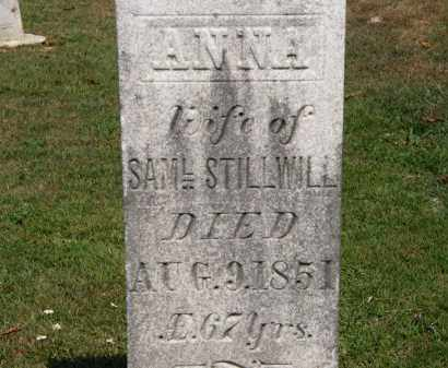 STILWILL, ANNA - Lorain County, Ohio | ANNA STILWILL - Ohio Gravestone Photos