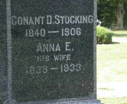 STOCKING, CONANT B. - Lorain County, Ohio | CONANT B. STOCKING - Ohio Gravestone Photos