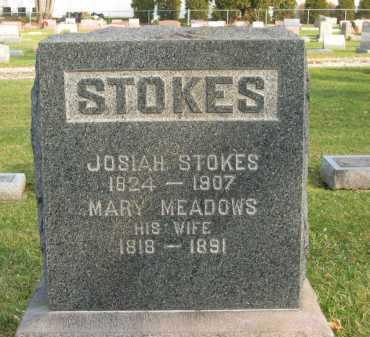 STOKES, JOSIAH - Lorain County, Ohio | JOSIAH STOKES - Ohio Gravestone Photos