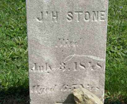 STONE, J. H. - Lorain County, Ohio | J. H. STONE - Ohio Gravestone Photos