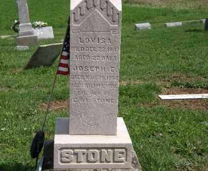 STONE, LOUISA - Lorain County, Ohio | LOUISA STONE - Ohio Gravestone Photos