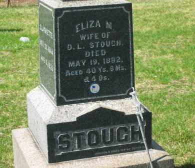 STOUGH, ELIZA M. - Lorain County, Ohio | ELIZA M. STOUGH - Ohio Gravestone Photos