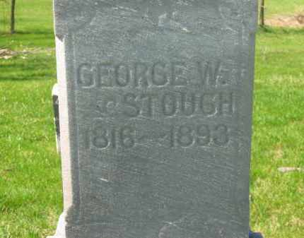 STOUGH, GEORGE W. - Lorain County, Ohio | GEORGE W. STOUGH - Ohio Gravestone Photos