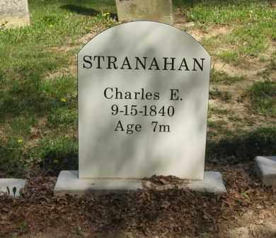 STRANAHAN, CHARLES E. - Lorain County, Ohio | CHARLES E. STRANAHAN - Ohio Gravestone Photos