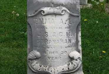 STRANAHAN, EMMA A. - Lorain County, Ohio | EMMA A. STRANAHAN - Ohio Gravestone Photos