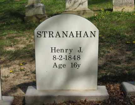STRANAHAN, HENRY J. - Lorain County, Ohio | HENRY J. STRANAHAN - Ohio Gravestone Photos