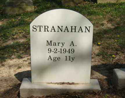 STRANAHAN, MARY A. - Lorain County, Ohio | MARY A. STRANAHAN - Ohio Gravestone Photos