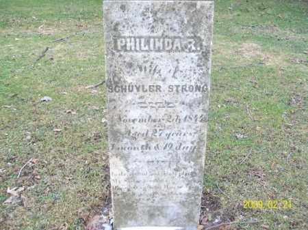 STRONG, PHILINDA R. - Lorain County, Ohio | PHILINDA R. STRONG - Ohio Gravestone Photos