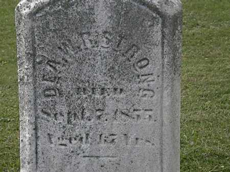STRONG, W.R. - Lorain County, Ohio | W.R. STRONG - Ohio Gravestone Photos