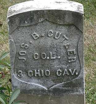 CUTLER, JOS. B - Lorain County, Ohio | JOS. B CUTLER - Ohio Gravestone Photos