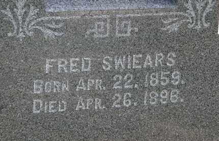 SWIERS, FRED - Lorain County, Ohio   FRED SWIERS - Ohio Gravestone Photos