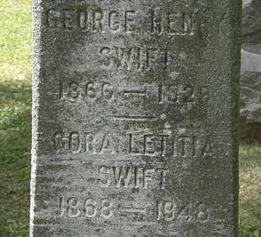 SWIFT, CORA LETITIA - Lorain County, Ohio | CORA LETITIA SWIFT - Ohio Gravestone Photos