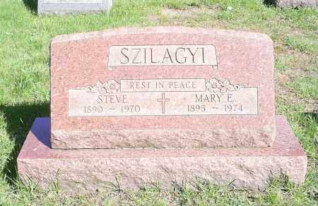 SZILAGYI, MARY E - Lorain County, Ohio | MARY E SZILAGYI - Ohio Gravestone Photos