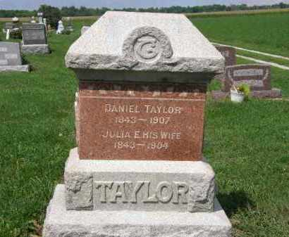TAYLOR, JULIA E. - Lorain County, Ohio | JULIA E. TAYLOR - Ohio Gravestone Photos
