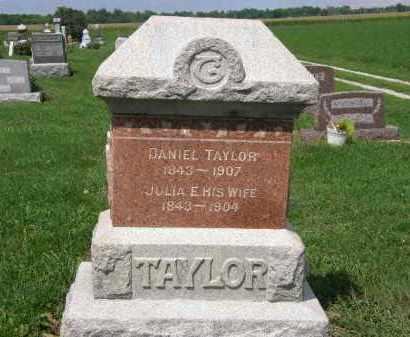 TAYLOR, DANIEL - Lorain County, Ohio | DANIEL TAYLOR - Ohio Gravestone Photos