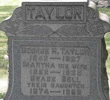TAYLOR, MARTHA - Lorain County, Ohio | MARTHA TAYLOR - Ohio Gravestone Photos