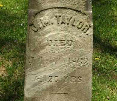 TAYLOR, J. M. - Lorain County, Ohio | J. M. TAYLOR - Ohio Gravestone Photos
