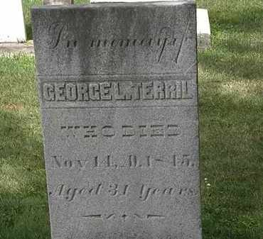 TERRIL, GEORGE L - Lorain County, Ohio | GEORGE L TERRIL - Ohio Gravestone Photos