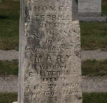 TERRILL, MARY - Lorain County, Ohio | MARY TERRILL - Ohio Gravestone Photos