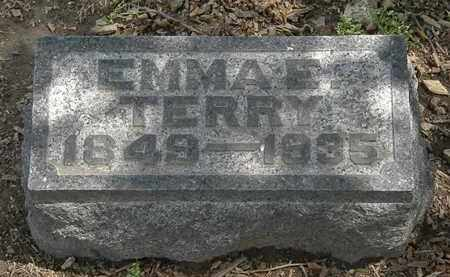 TERRY, EMMA E. - Lorain County, Ohio | EMMA E. TERRY - Ohio Gravestone Photos