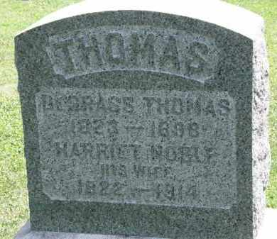 NOBLE THOMAS, HARRIET - Lorain County, Ohio | HARRIET NOBLE THOMAS - Ohio Gravestone Photos