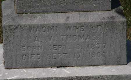 THOMAS, NAOMI - Lorain County, Ohio | NAOMI THOMAS - Ohio Gravestone Photos