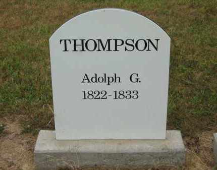 THOMPSON, ADOLPH G. - Lorain County, Ohio | ADOLPH G. THOMPSON - Ohio Gravestone Photos