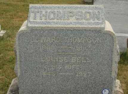 BELL THOMPSON, LOUISE - Lorain County, Ohio | LOUISE BELL THOMPSON - Ohio Gravestone Photos