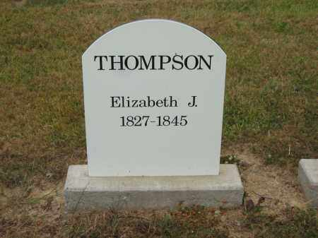 THOMPSON, ELIZABETH J. - Lorain County, Ohio | ELIZABETH J. THOMPSON - Ohio Gravestone Photos