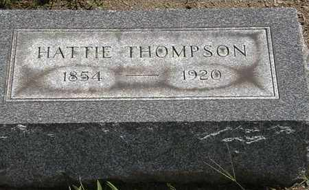 THOMPSON, HATTIE - Lorain County, Ohio | HATTIE THOMPSON - Ohio Gravestone Photos
