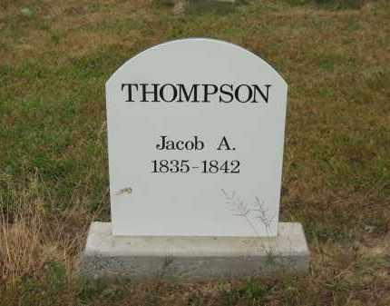 THOMPSON, JACOB A. - Lorain County, Ohio | JACOB A. THOMPSON - Ohio Gravestone Photos