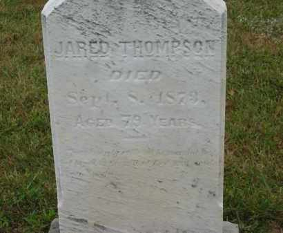 THOMPSON, JARED - Lorain County, Ohio | JARED THOMPSON - Ohio Gravestone Photos