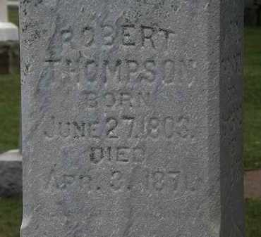 THOMPSON, ROBERT - Lorain County, Ohio | ROBERT THOMPSON - Ohio Gravestone Photos