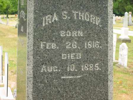 THORP, IRA S. - Lorain County, Ohio | IRA S. THORP - Ohio Gravestone Photos